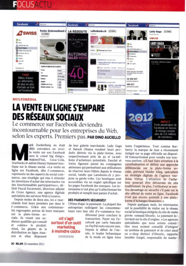 Interview by Bilan on social media marketing